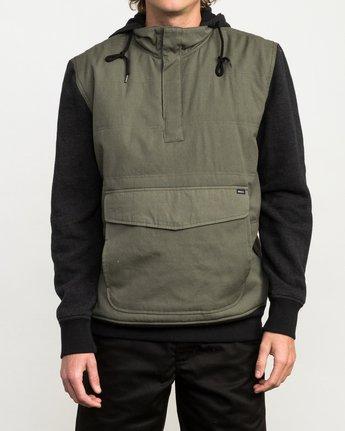 1 Grip It Puffer Jacket Green M602QRGT RVCA