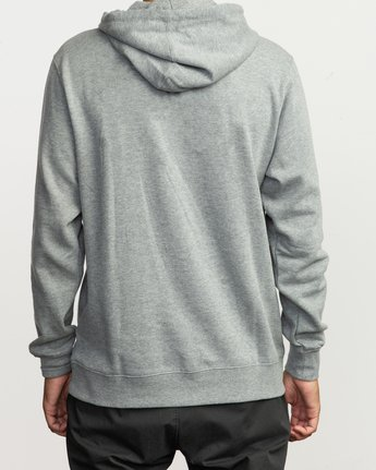 2 RVCA Sport Pullover Hoodie Grey M602SRRS RVCA