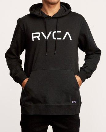1 Big RVCA Hoodie Black M602VRBR RVCA