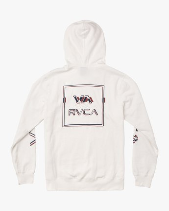 1 Logo Pack Hoodie White M602VRLP RVCA