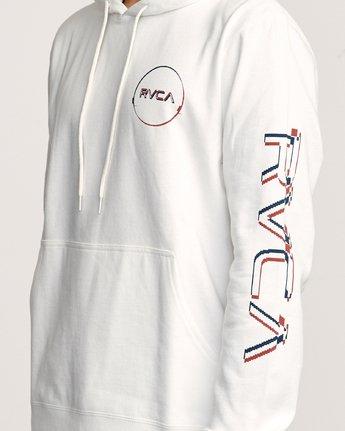 6 Logo Pack Hoodie White M602VRLP RVCA