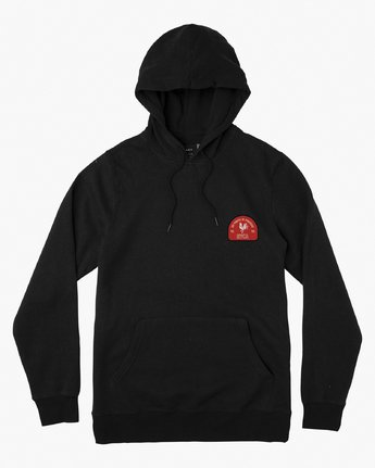 1 No Fight Fleece Hoodie Black M602VRNO RVCA