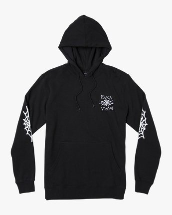 1 Creep Pack Hoodie Black M602WRCR RVCA