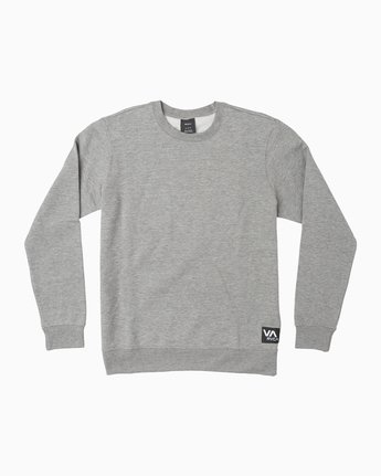 LABEL CREW FLEECE M608QRLE