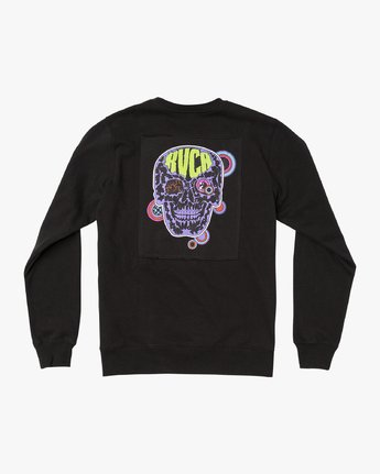 0 Leisure Crew Sweatshirt Black M608VRLC RVCA