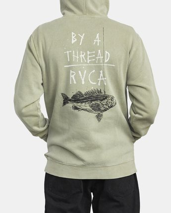 6 BY A THREAD HOODIE Green M6213RBY RVCA