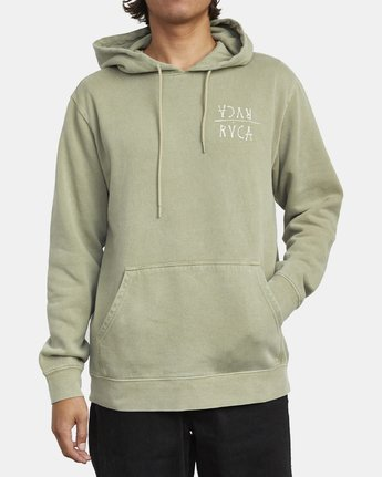 2 BY A THREAD HOODIE Green M6213RBY RVCA