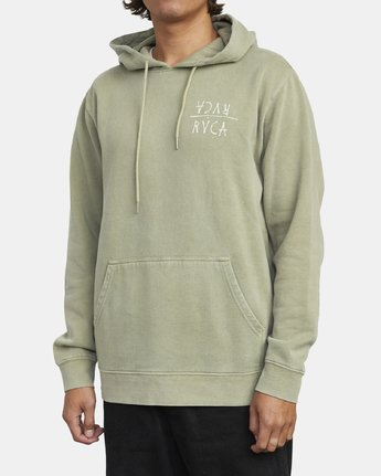 3 BY A THREAD HOODIE Green M6213RBY RVCA