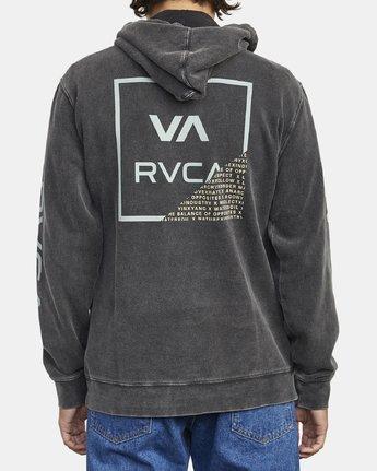 5 FRACTION HOODIE Black M6213RFR RVCA