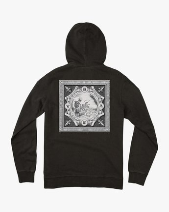 1 Elevation Hoodie Black M621QREL RVCA