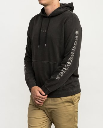 4 Elevation Hoodie Black M621QREL RVCA