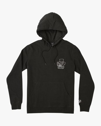 1 Pick Your Battles Hoodie Black M621URKR RVCA