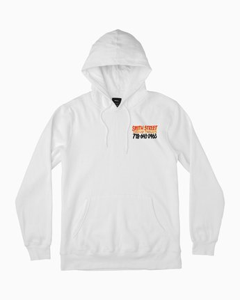 1 Smith Street Nurse Sign 2 Hoodie White M622QRSP RVCA