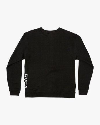 1 VA Vent Crew Sweatshirt Black M622TRVV RVCA