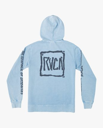 0 Travel Pack Hoodie Blue M622URTR RVCA