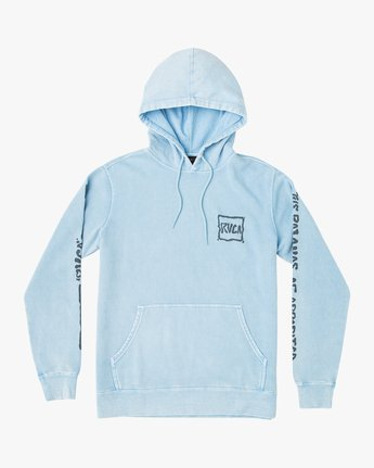 1 Travel Pack Hoodie Blue M622URTR RVCA