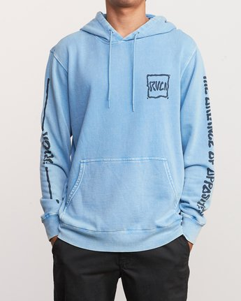 2 Travel Pack Hoodie Blue M622URTR RVCA