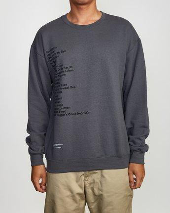 2 Mills BL Tokyo Fleece Sweatshirt Grey M622VRMM RVCA