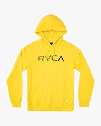 SCRATCHED RVCA HOODIE M624TRSC