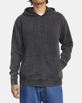 1 TONALLY II HOODIE Orange M6263RTO RVCA