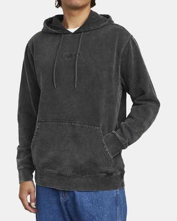 2 TONALLY II HOODIE Orange M6263RTO RVCA