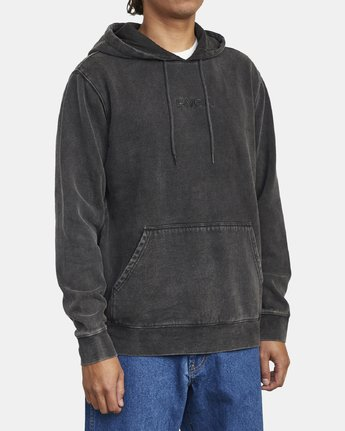 3 TONALLY II HOODIE Orange M6263RTO RVCA