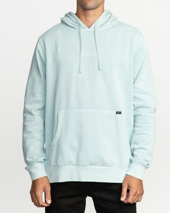 1 Little RVCA Tonally Hoodie Blue M628TRLI RVCA
