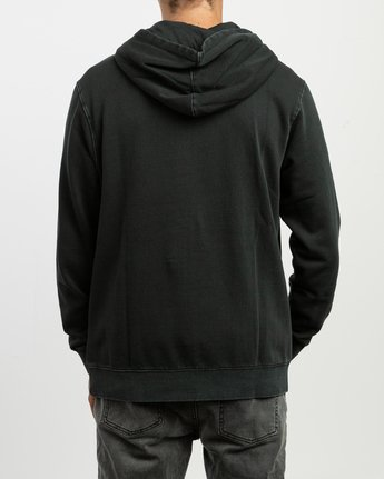 4 Little RVCA Tonally Hoodie Black M628TRLI RVCA
