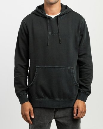 1 Little RVCA Tonally Hoodie Black M628TRLI RVCA