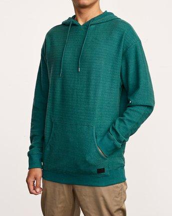 2 Camino Fleece Hoodie Green M629VRCA RVCA