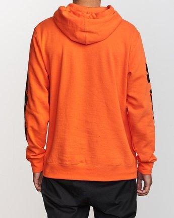 3 Slappy Pullover Hoodie Orange M629VRSH RVCA