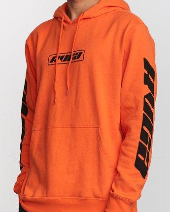 4 Slappy Pullover Hoodie Orange M629VRSH RVCA