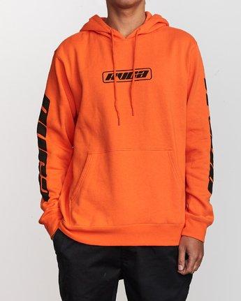 1 Slappy Pullover Hoodie Orange M629VRSH RVCA