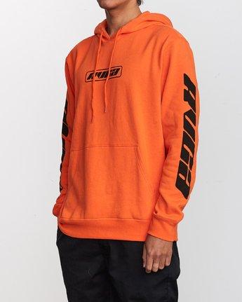 2 Slappy Pullover Hoodie Orange M629VRSH RVCA