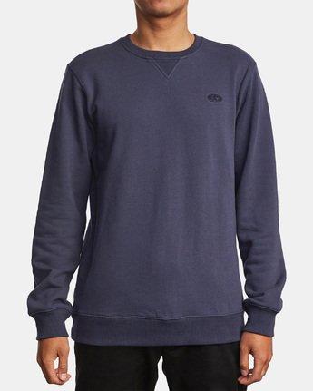 1 Hogan Crew Sweatshirt Blue M631WRHO RVCA