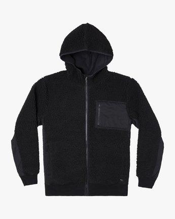 0 Knoll Sherpa Jacket Black M691WRKN RVCA