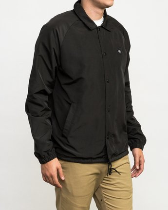 3 ATW II Coaches Jacket Black M701QRAT RVCA