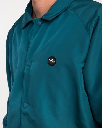 5 ATW II Coaches Jacket Green M701QRAT RVCA