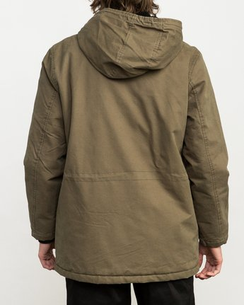 4 Ground Control II Jacket Green M701QRGC RVCA