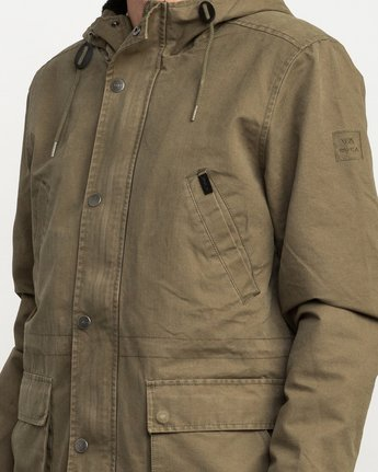 5 Ground Control II Jacket Green M701QRGC RVCA