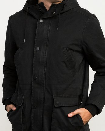6 Ground Control II Jacket Black M701QRGC RVCA