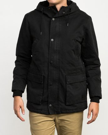 1 Ground Control II Jacket Black M701QRGC RVCA