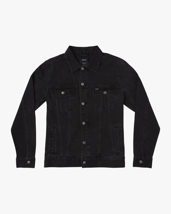 0 Daggers Denim Jacket Black M703TRDV RVCA
