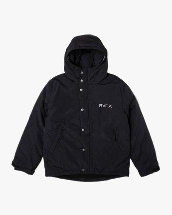 0 RVCA PUFFA JACKET Black M703VRRP RVCA