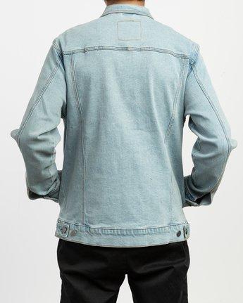 4 Daggers Denim Jacket Blue M704TRDO RVCA