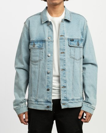 1 Daggers Denim Jacket Blue M704TRDO RVCA