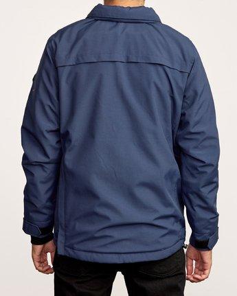 3 Accomplice Anorak Jacket Blue M704VRAC RVCA