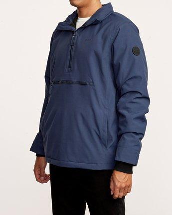 2 Accomplice Anorak Jacket Blue M704VRAC RVCA