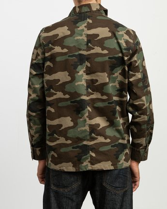 5 Couleur Chore Coat Shirt  M705TRCC RVCA