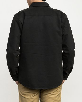 4 Utility Shirt Jacket Black M708QRUS RVCA